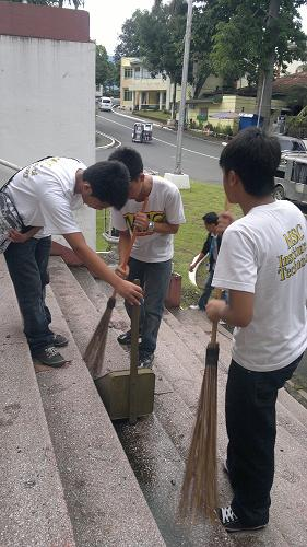 The cleanup shows MSC's commitment to the community