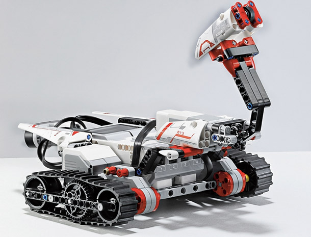 The new Lego Mindstorms EV3