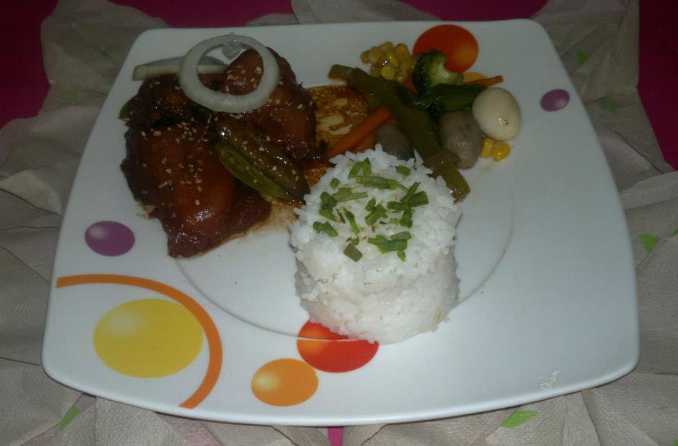 Pork Adobo with veggies