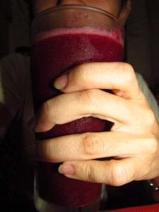 Mulberry juice
