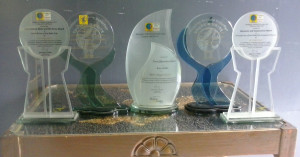 Cyberfair trophies