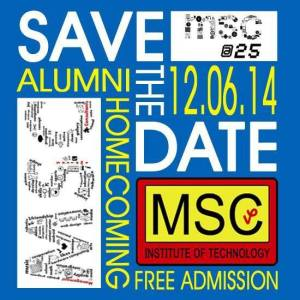 MSC Alumni Homecoming 2014