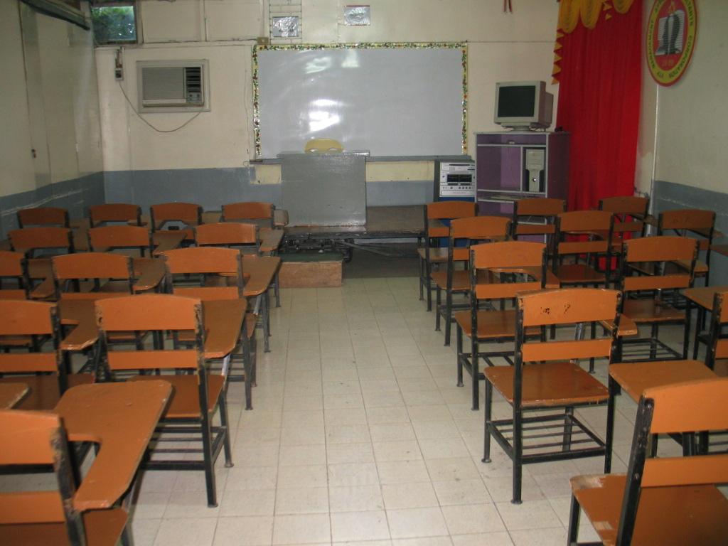 annex 1st floor classroom