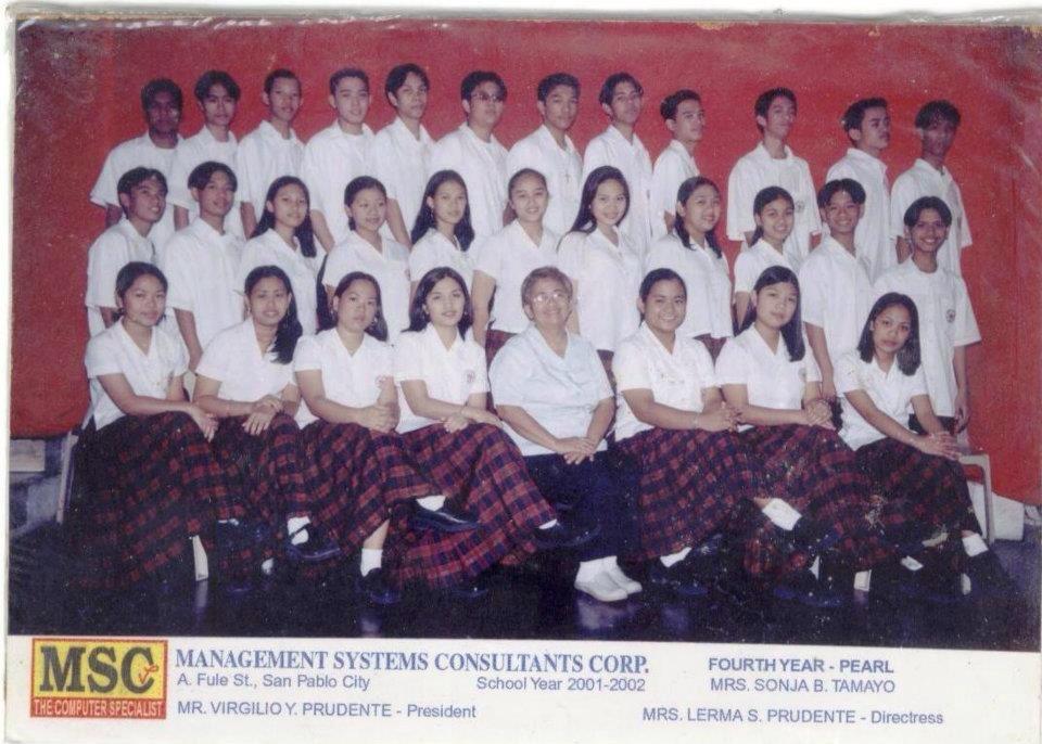 MSC HS class 2002 4